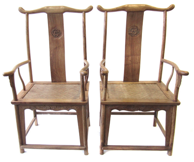 Pair of Chinese Huanghuali Chairs - Of Chinese Huanghuali Chairs