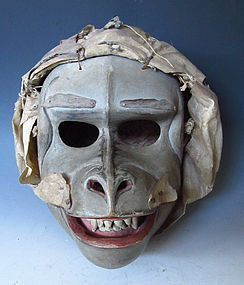 Antique Indonesian Topeng Monkey Mask